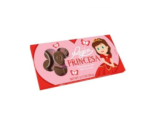 Chocolate Leite Princesa Regina 90 Gr