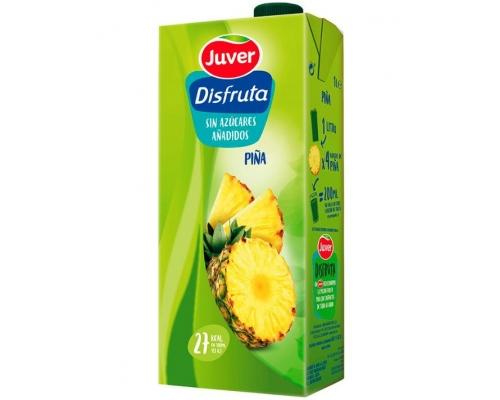Néctar Ananás Juver Disfruta 1 L Néctares Fruta Juver