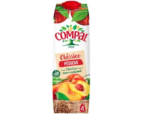 Compal Clássico Peach Juice 1 L