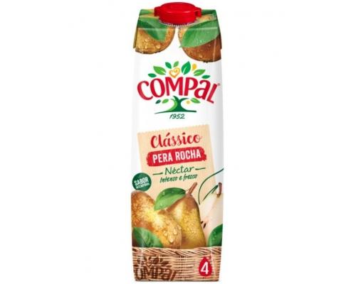 Compal Clássico Pear Rocha Juice 1 L