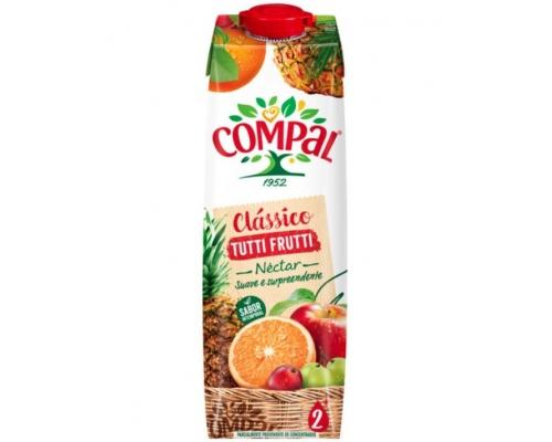 Néctar Tutti Frutti Compal Clássico 1 L Néctares Fruta Compal