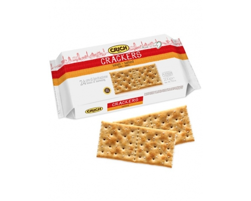 Crich Crackers Salt 250 Gr