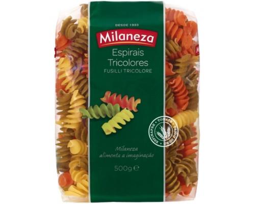 Massa Espirais Tricolores Milaneza...