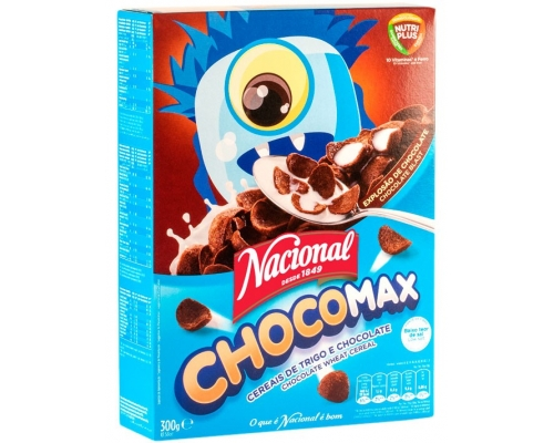 Nacional Cereal Chocomax 300 Gr