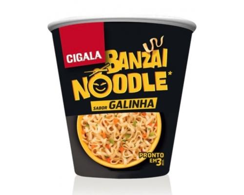 Cigala Banzai Chicken Noodles 67 Gr
