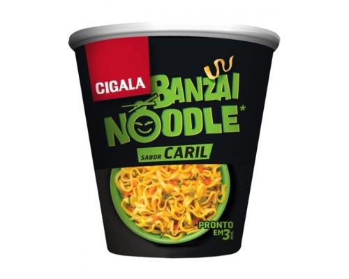 Cigala Banzai Curry Noodles 67 Gr