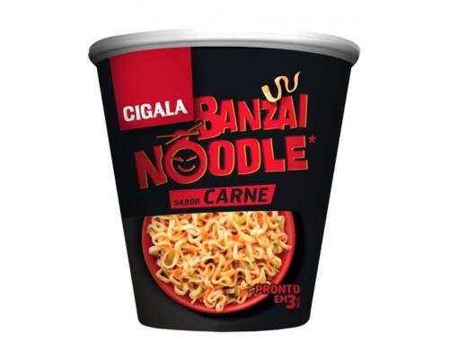 Noodles Carne Banzai Cigala 67 Gr