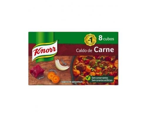 Caldo Carne Cubos Knorr 8 Un