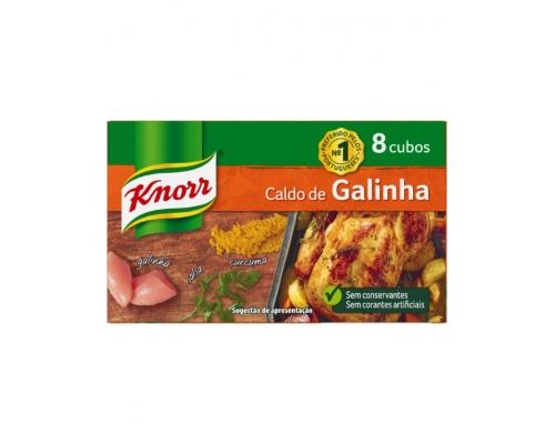 Knorr Chicken Stock Cubes 8 Un