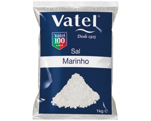 Sal Marinho Grosso Vatel 1 Kg
