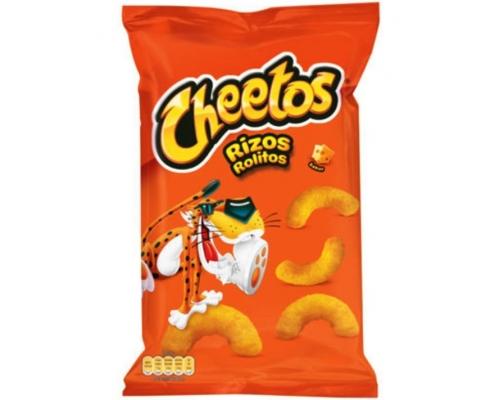 Cheetos Rizos Cheese Puff Snacks 100 Gr