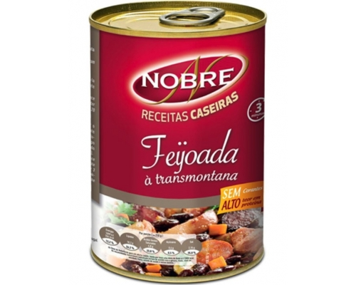 Nobre Red Beans With Pork Meat 500 Gr