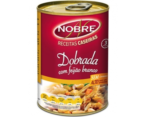 Nobre Beef Tripe with White Beans 500 Gr