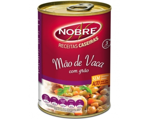 Nobre Beef Feet with Chickpeas 500 Gr
