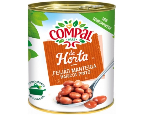 Compal Pinto Beans In Water 845 Gr