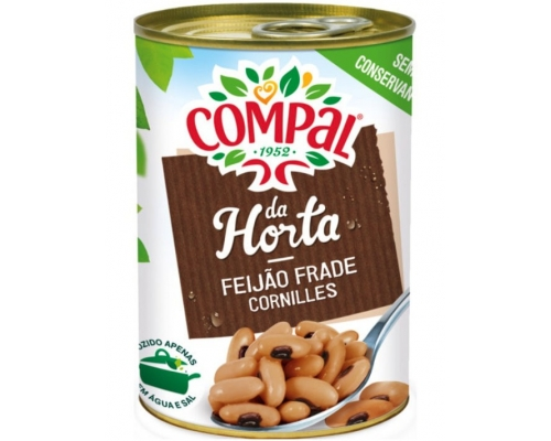 Compal Black Eye Beans In Water 410 Gr