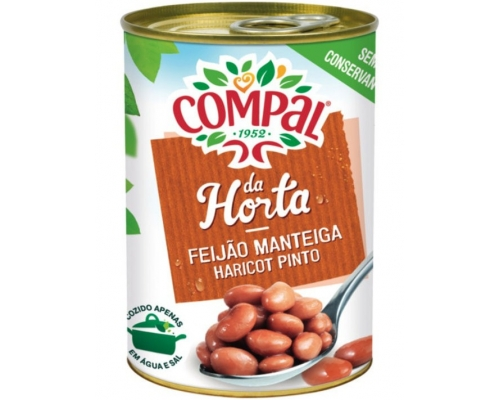 Compal Pinto Beans In Water 410 Gr