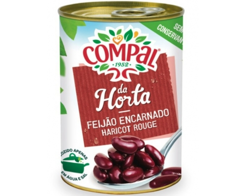 Compal Red Kidney Beans In Water 410 Gr