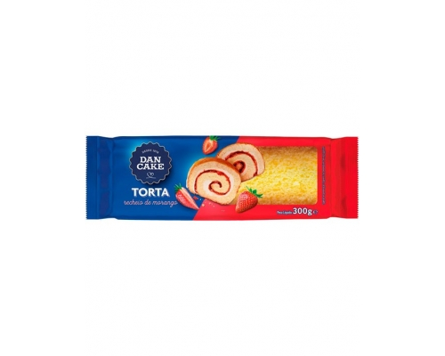 Dancake Strawberry Roll 300 Gr