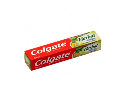 Pasta Dentífrica Herbal Branqueadora Colgate 75 Ml Pasta Dentífrica Colgate