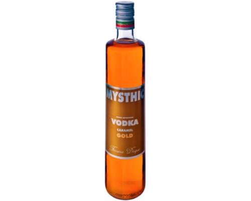Bebida Espirituosa de Vodka Caramelo Gold Mysthic 0,70 L Vodka Mysthic