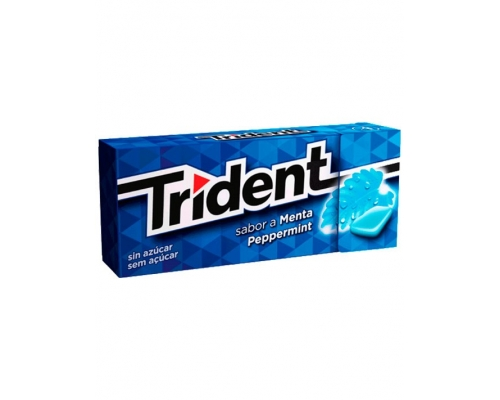 Trident Peppermint Chewing Gum 14,5 Gr
