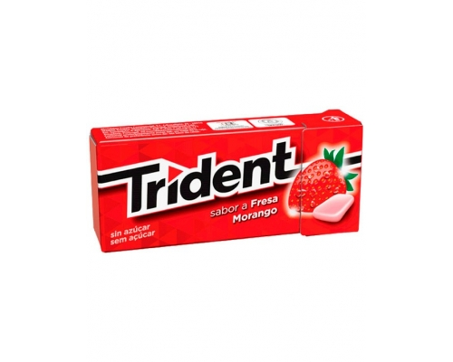 Trident Strawberry Chewing Gum 14,5 Gr
