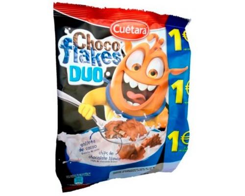 Bolachas Choco Flakes Duo Cuétara 150 Gr