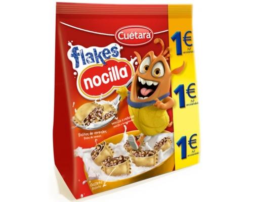 Bolachas Flakes Nocilla Cuétara 130 Gr