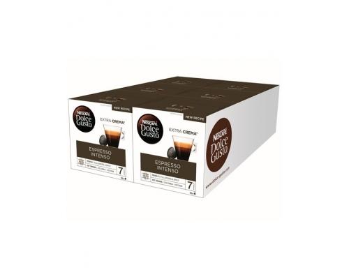 Cápsulas Café Espresso Intenso Dolce Gusto 96 Un (6 x 16 Un)