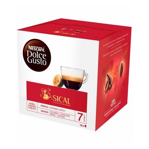 Sical Dolce Gusto Cápsulas Café 16 Un