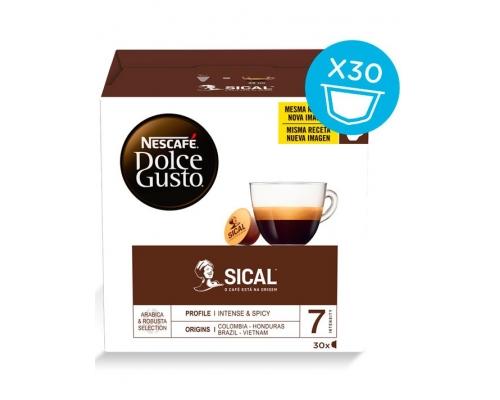 Cápsulas Café Dolce Gusto Sical Nescafé 30 Un