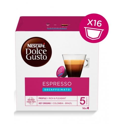 Dolce Gusto Espresso Decaffeinato 16 Cápsulas Café