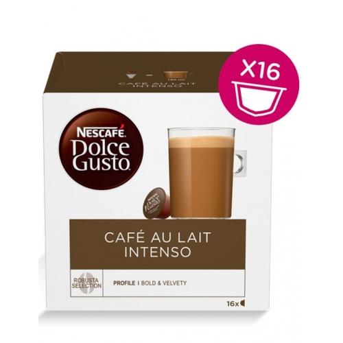 Dolce Gusto Café Au Lait Intenso 16 Cápsulas