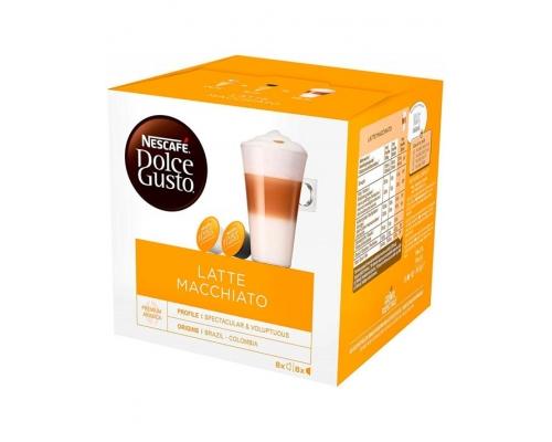 Cápsulas Latte Macchiato Nescafé Dolce Gusto 16 Un