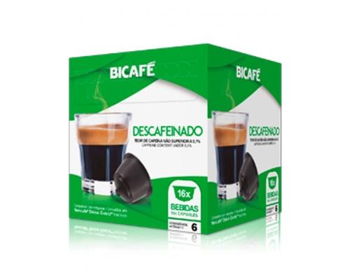 Cápsulas Dolce Gusto Descafeinado Café Bicafé