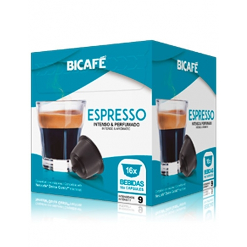 Cápsulas Café Dolce Gusto * Espresso Bicafé 16 Un