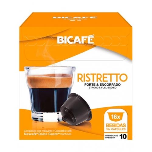 Dolce Gusto Ristretto Bicafé 16 Cápsulas Café