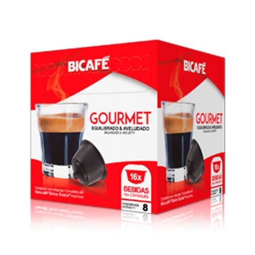 Cápsulas Compatíveis Dolce Gusto Gourmet Café Bicafé 16 Un