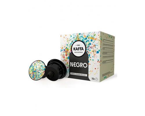 Cápsulas Kaffa Compatibles Dolce Gusto Café Negro 16 Un