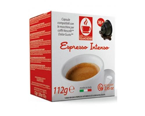 Cápsulas Compatíveis Dolce Gusto Bonini Espresso Intenso 16 Un