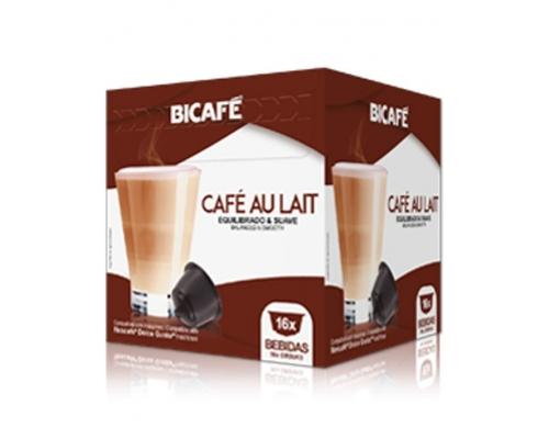 Cápsulas Dolce Gusto * Café Con Leche Bicafé 16 Un