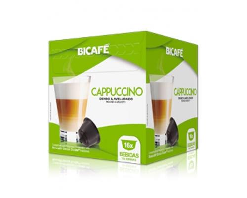 Cápsulas Dolce Gusto * Cappuccino Bicafé 16 Un