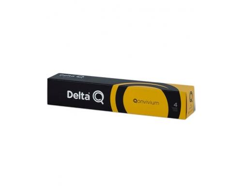 Delta Q Qonvivium Coffee Pods 10 Un