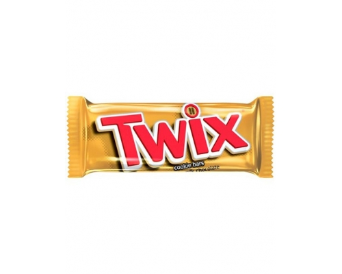 Twix Chocolate Biscuit Twin Bars 50 Gr