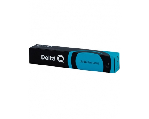 Delta Q DeQafeinatus Coffee Pods 10 Un