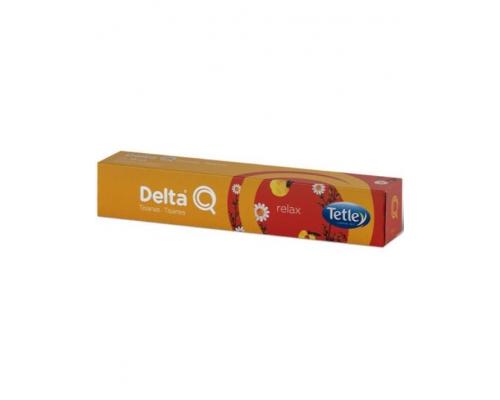 Delta Q Tetley Relax Tea Pods 10 Un