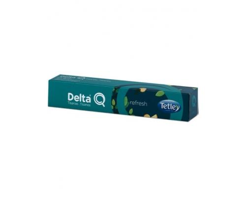 Delta Q Tetley Refresh Tea Pods 10 Un