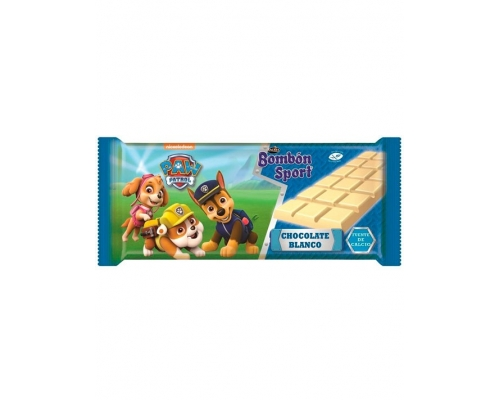 Lacasa Paw Patrol White Chocolate Bar...