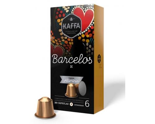 Kaffa Nespresso Cápsulas Café Compatíveis Barcelos 10 Un